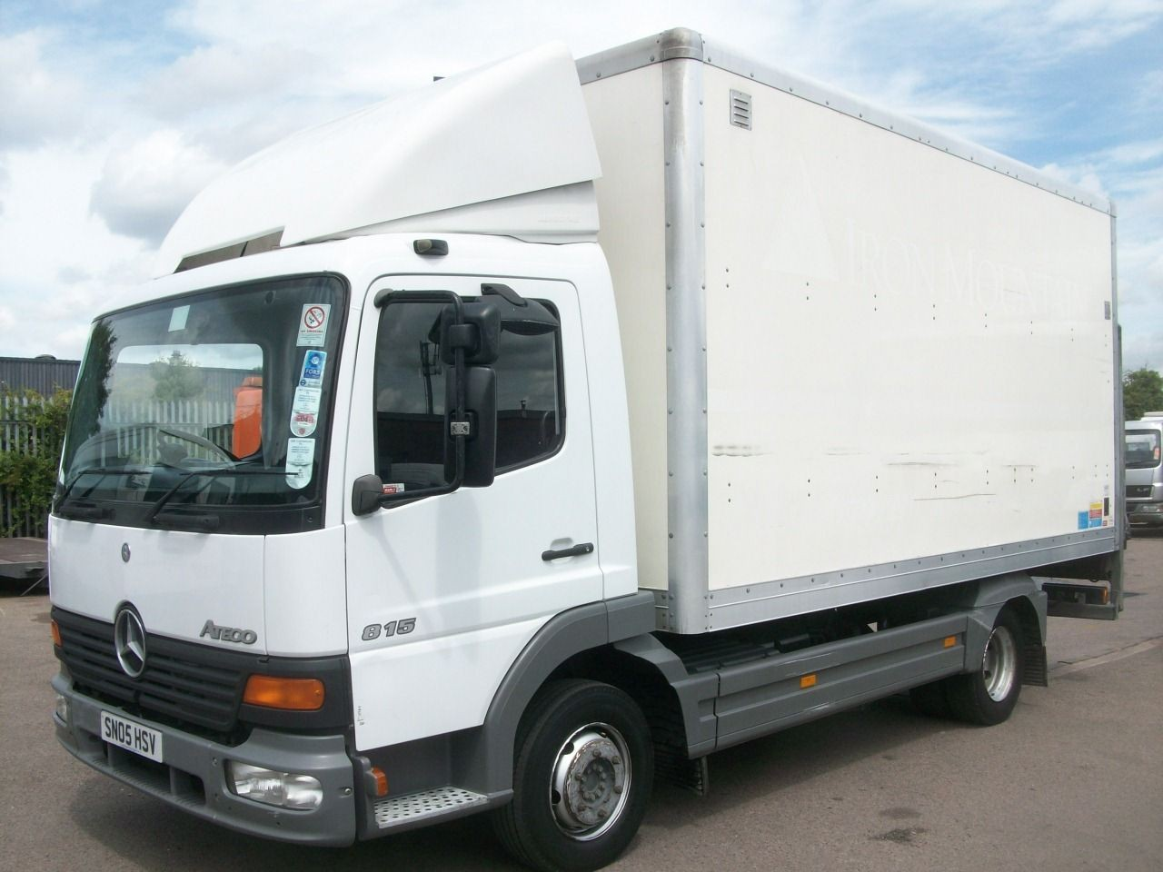 mercedes benz 815 atego 16 39 boxvan malcolm taylor commercials. Black Bedroom Furniture Sets. Home Design Ideas