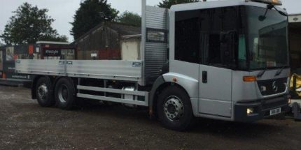 Merc Econic Scaffold truck
