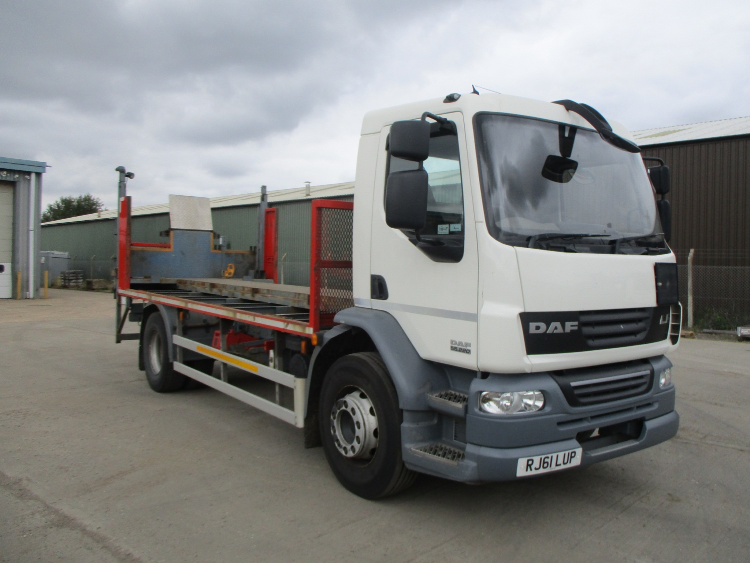2012 Daf Lf55 220 18t With Ex Boc Gas Body Or As Chassis Cab Used Trucks Scaffolding Trucks Crane Mounted Trucks For Sale