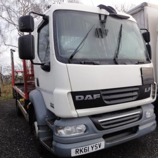 2011 DAF LF55.220 14T GVW with Gas Carrier Body or as Chassis Cab
