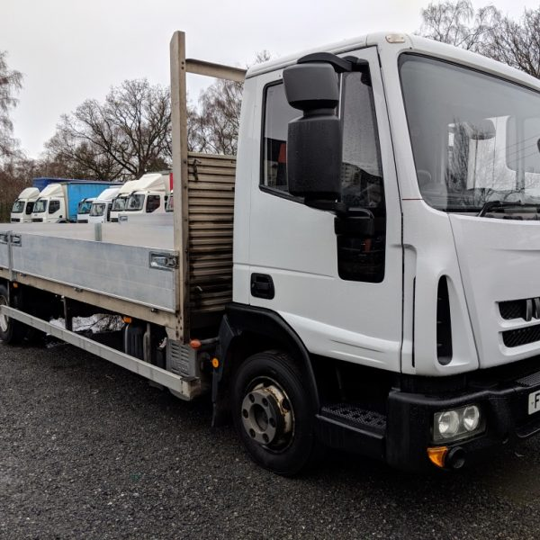 2014 Iveco Eurocargo 7.5 Ton 23ft Dropsider (ULEZ Compliant on reg date)