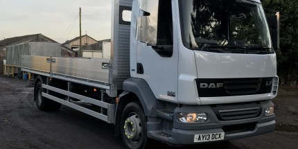 2013 DAF LF55.180 15Ton with NEW 23ft Scaffold Dropside Body