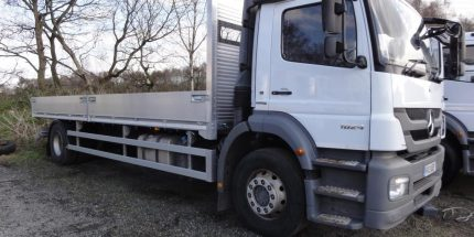 2013 Mercedes Atego 1824 with NEW 24ft Scaffold Spec Dropside Body