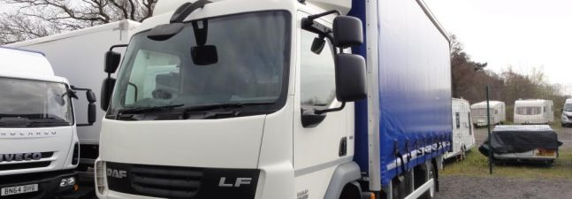 2013 DAF LF45.210 12 Ton 20ft Curtainsider