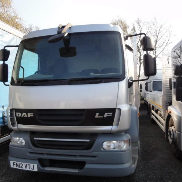 2012 DAF LF55.220 18T GVW 23ft Dropsider