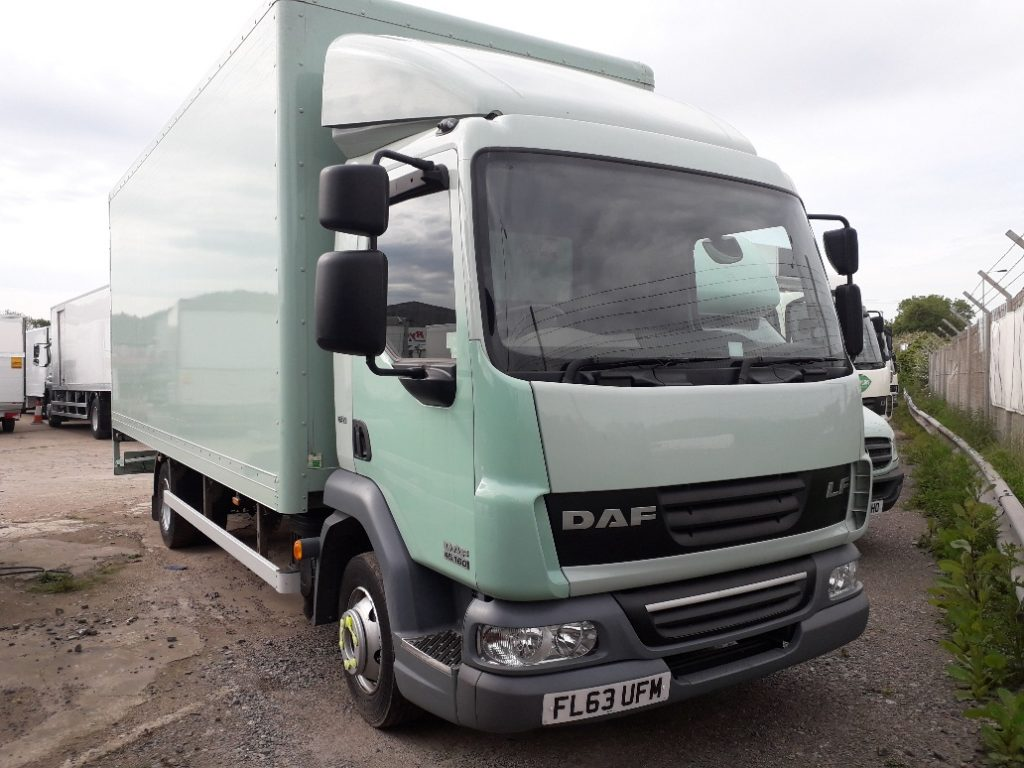 2013 DAF LF45.160 7.5T 20ft Boxvan - ONLY 35000 miles FSH