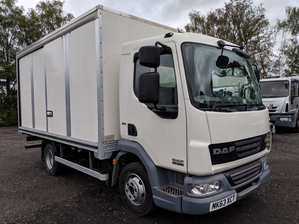 2013 DAF LF45.160 7.5T 15ft Short Boxvan