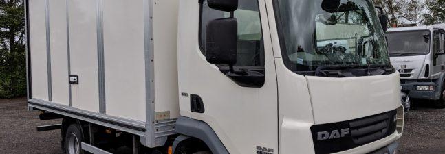 2013 DAF LF45.160 7.5T 15ft Short Boxvan