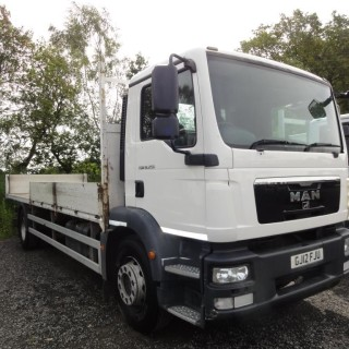 2012 MAN TGM 18.250 18 Ton 24ft Dropsider