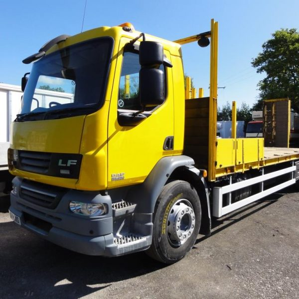 2013 DAF LF55.250 18Ton Beavertail with Hydraulic Ramps