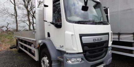 ULEZ (Euro 6) 2014 DAF LF55.220 Scaffold Dropsider