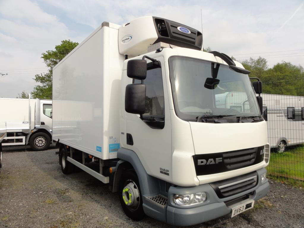 2013 Daf Lf45 160 14ft Fridge Truck Used Trucks Scaffolding Trucks Crane Mounted Trucks For Sale