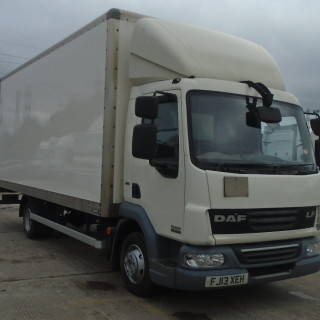 2013 DAF LF45.160 20ft 7.5T Boxvan with Tail-Lift