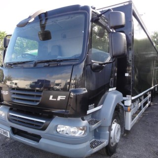 2013 DAF LF55.250 6×2 21Ton 27ft Curtainsider