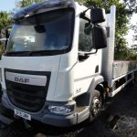 ULEZ EURO 6 - DAF LF45.210 12Ton with NEW 22ft Scaffold Dropside Body