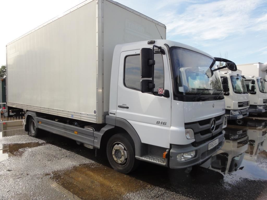 2013 Merc Atego 816 7.5T 20ft Boxvan - ONLY 52,000miles