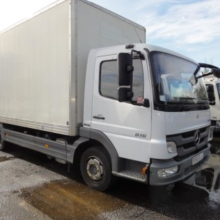 2013 Merc Atego 816 7.5T 20ft Boxvan – ONLY 52,000miles