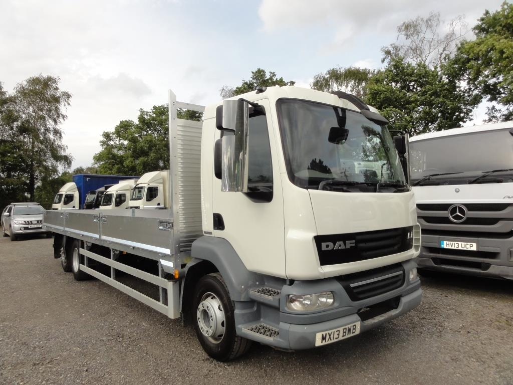 2013 DAF LF55.250 21 Ton 6X2 with NEW Dropside Body