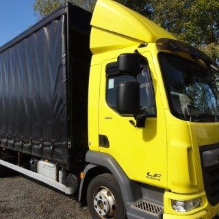 ULEZ EURO 6 DAF LF45.180 7.5T 20ft Curtainsider with Tail-Lift