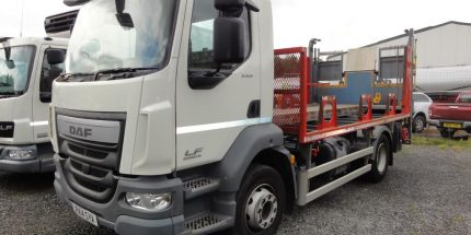 ULEZ EURO 6 DAF LF55.220 14T Gas Bottle Carrier