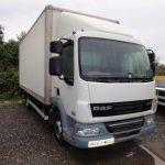 2013 DAF LF45.160 7.5T 20ft Boxvan - ONLY 92,000 miles