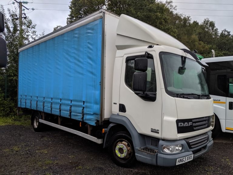 2013 DAF LF45.160 7.5T 20ft Curtainsider ONLY 98,000 Miles