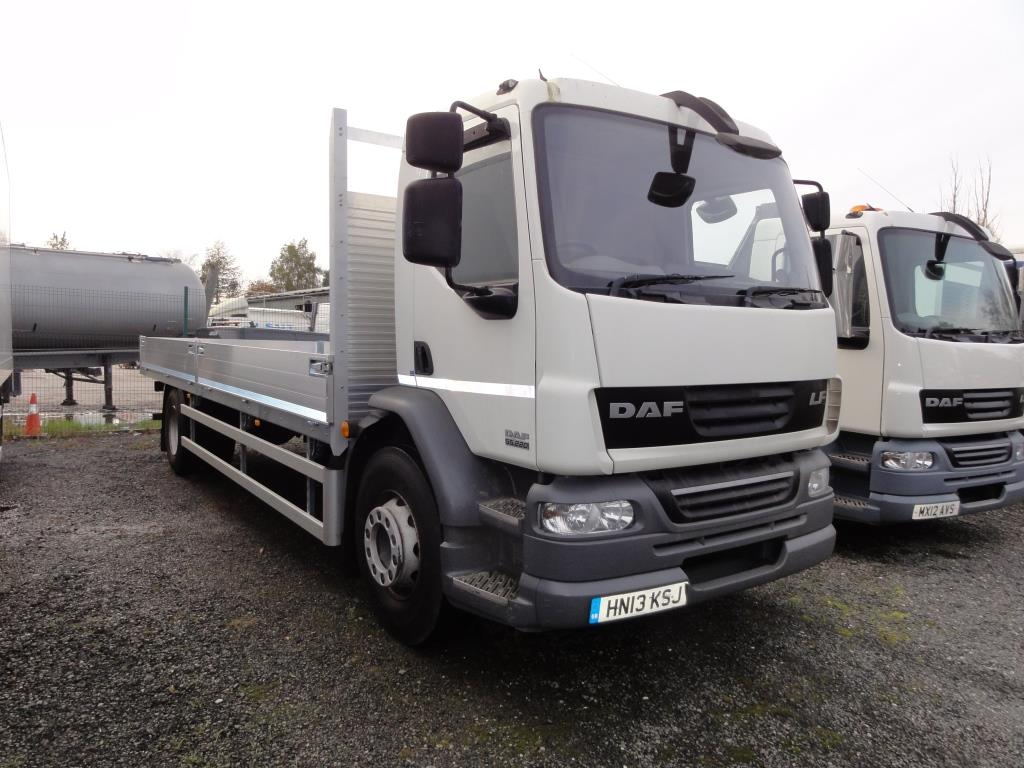 2013 DAF LF55.220 18Ton 23ft Scaffold Spec Dropsider