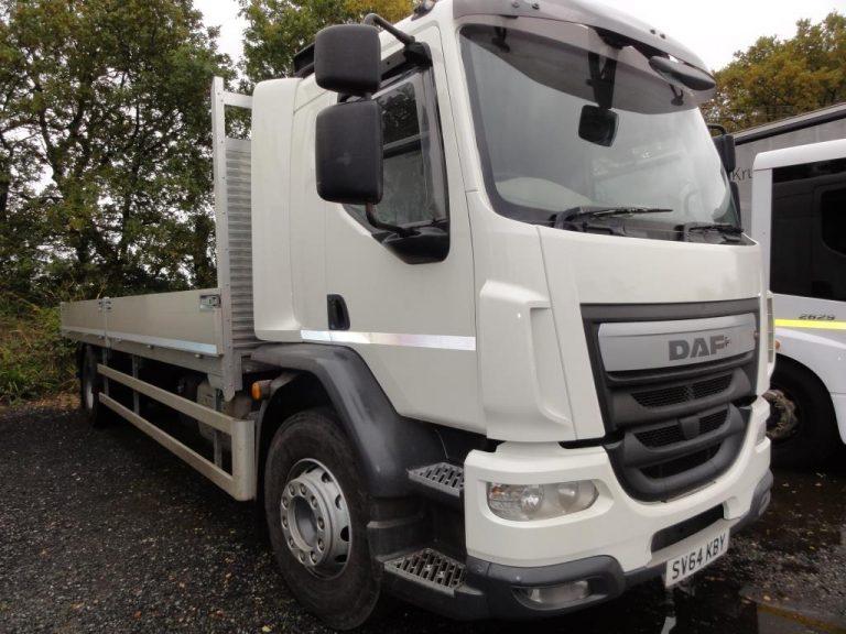 Euro 6 Dropside Scaffolding Trucks in Leeds
