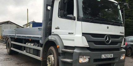 2012 Merc 1824 Axor 18 Ton with NEW 24ft Dropside Body