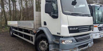 2009 DAF LF55 Scaffold truck