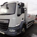 Scaffolding trucks in London