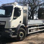 Euro 6 scaffolding trucks London