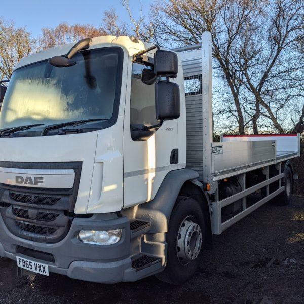 EURO6 DAF Scaffold Truck