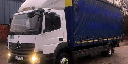 EURO 6 12 Ton Mercedes 22ft Curtainsider