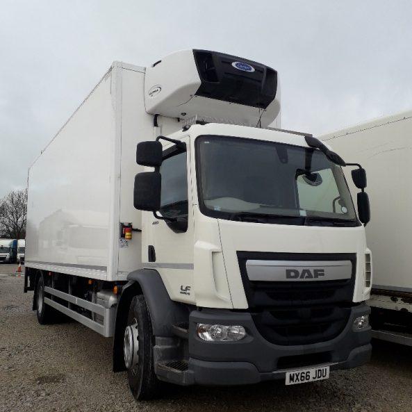 2016 EURO 6 DAF LF55 18 Ton Fridge Boxvan