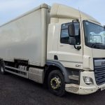 2016 DAF CF75 Drawbar Spec Demount Boxvan