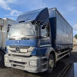 ULEZ 2014 Mercedes 1824 Curtainsider