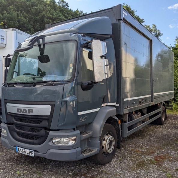 16 Ton DAF Boxvan