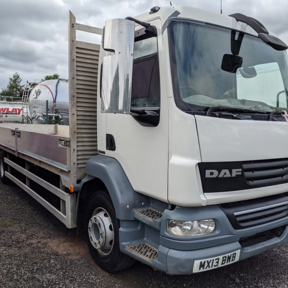21T DAF Dropside Truck